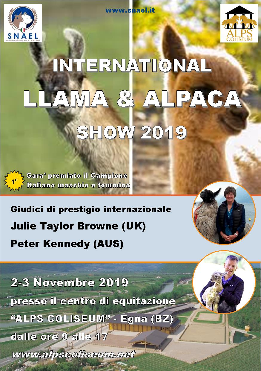 International Show Alpaca & Llama - 3° Edition Egna (BZ)
