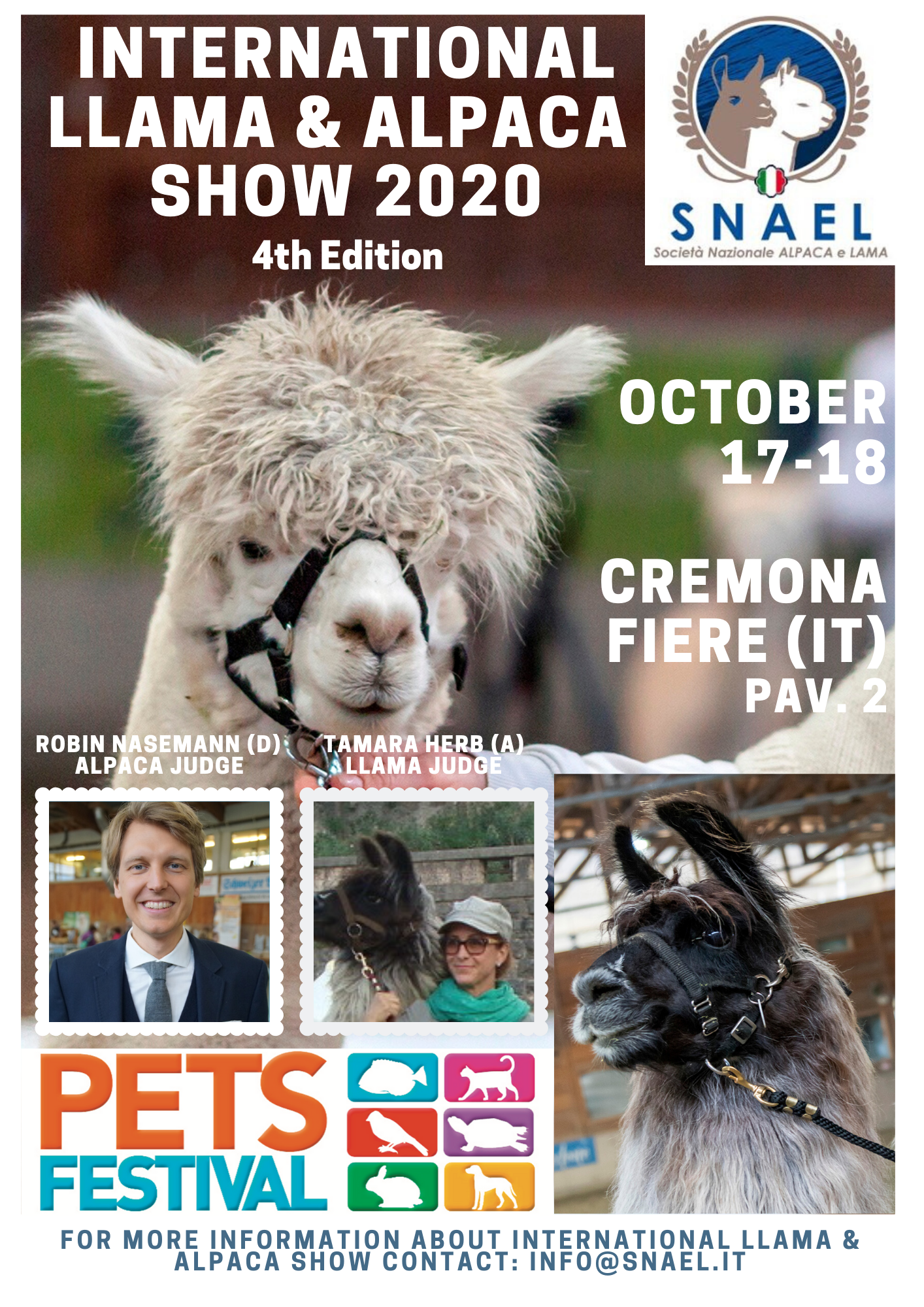 International Llama & Alpaca Show 2020 - 4th  Edition